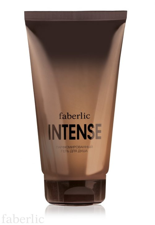 Pánský parfémovaný sprchový gel Faberlic Intense