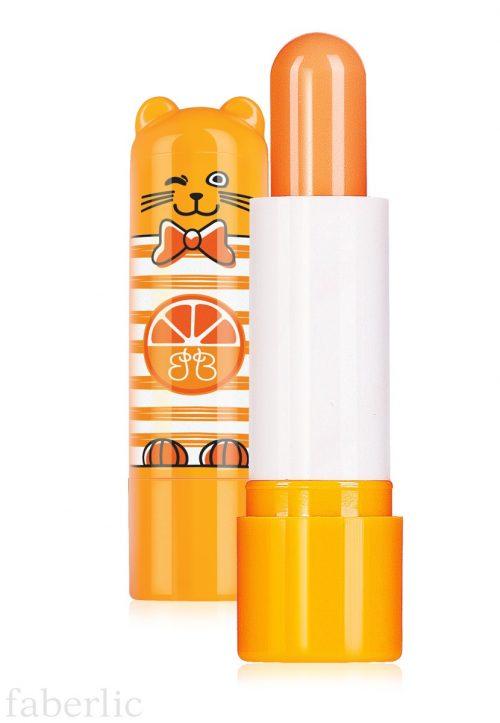 Ochranný balzám na rty Kocour Pomeranč
