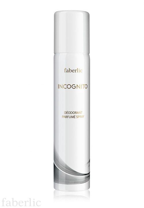 Dámský parfémovaný deodorant v aerosolovém balení faberlic INCOGNITO