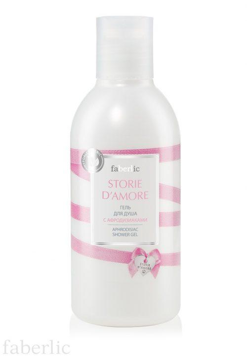 Sprchový gel s afrodisiaky série STORIE D'AMORE