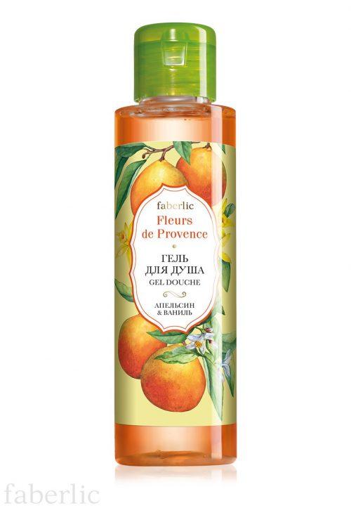 Sprchový gel Pomeranč & vanilka