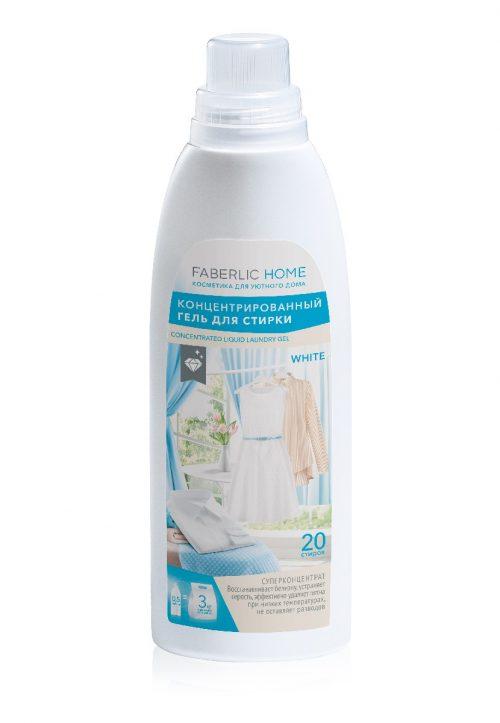 Koncentrovaný prací gel na bílé prádlo