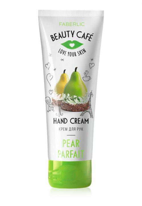 Výživný krém na ruce Hruškový parfait Beauty Cafe