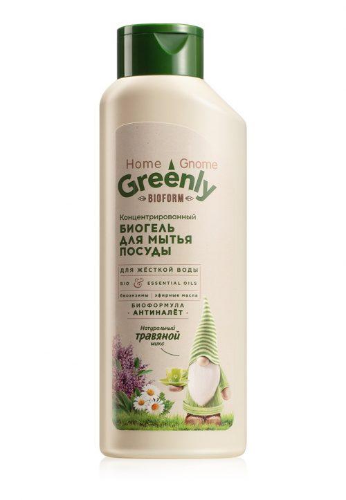 Biogel na mytí nádobí koncentrovaný Bylinný mix Home Gnome Greenly
