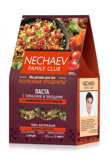 Těstoviny s rajčaty a zeleninou