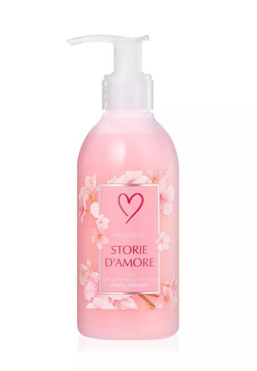 Gel pro intimní hygienu Kvetoucí višeň Storie d'Amore
